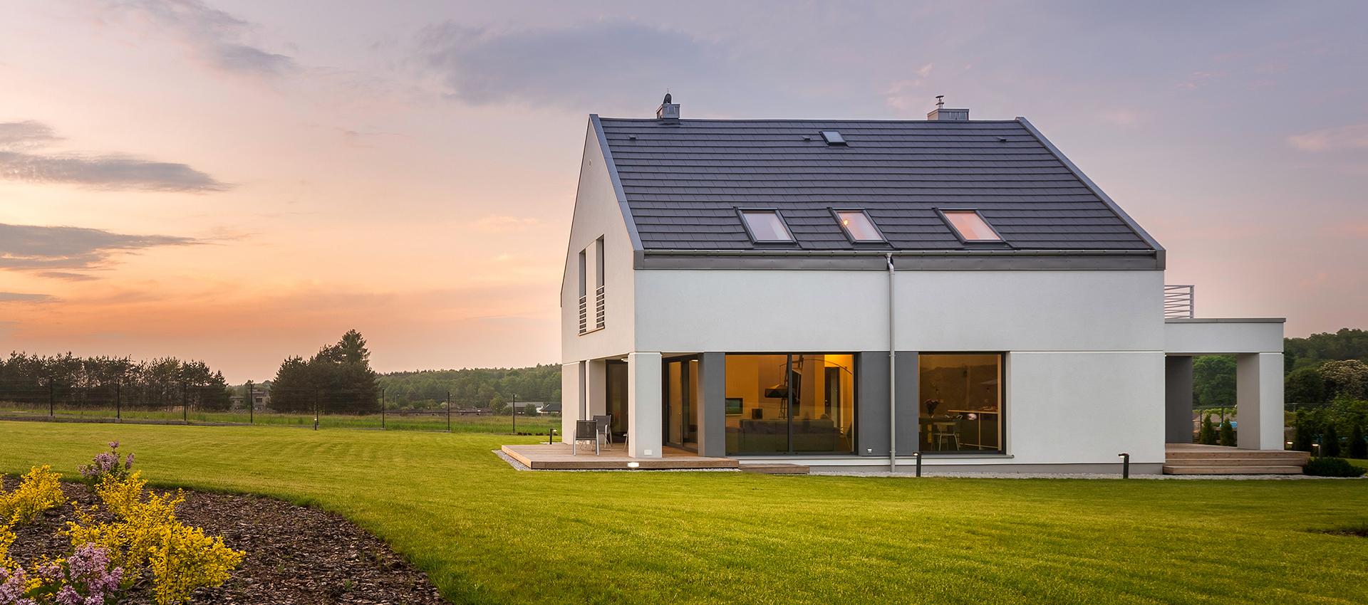 Haus mit grossem grundstueck